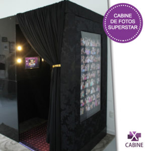 Cabine de fotos superstar