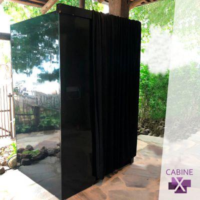 foto cabine preta para eventos